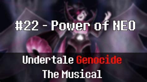 Undertale屠殺音樂劇(L版) Power of NEO - 全新的力量 - YouTube