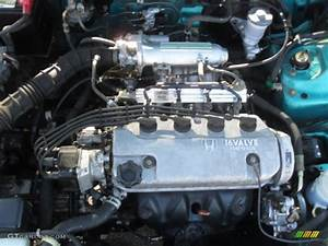 1998 Honda Civic Dx Coupe Engine
