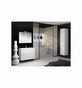 ensemble de salle de bain guadix blanc 60cm meuble salle With porte d entrée pvc avec ensemble robinetterie salle de bain