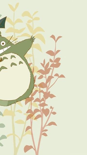 cartoon design totoro  backgrounds  powerpoint
