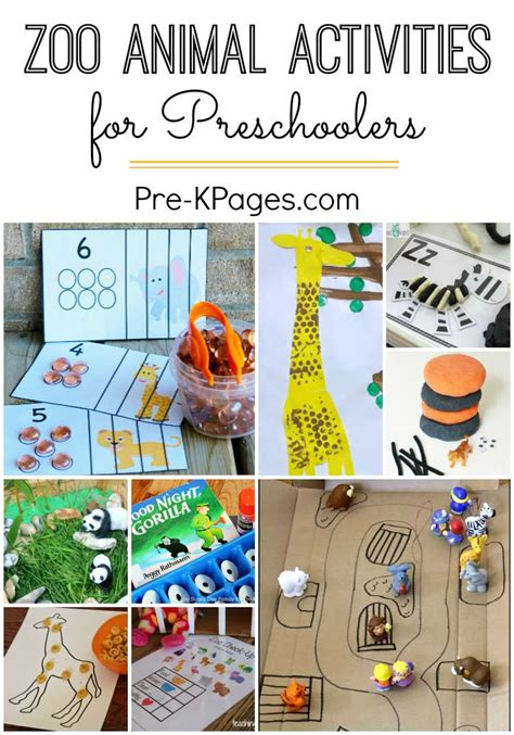25 best ideas about zoo activities preschool on 995 | 1279304b13c83fd9a987ccacdb21f6f5 learning activities for kids educational activities