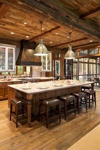 23, Stunning, Rustic, Kitchen, Island, Ideas, Kitchendesign, Kitchenremodel, Kitchendecor