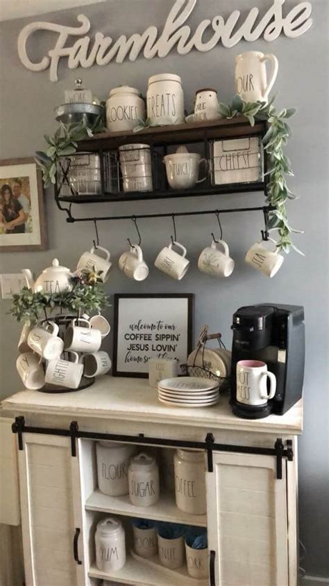 Found at gray house studio. 21 Terrific Coffee Bar Ideas to Help You Prepare Your Morning Coffee