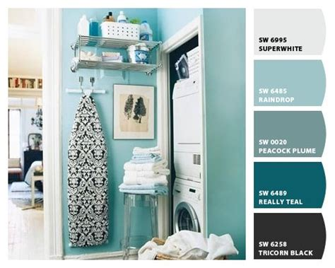 Bright Cheerful Color For Laundry Room Raindrop Chip It