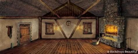backdrops cottage interior  backdrops props
