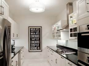 white galley kitchen ideas bloombety kitchen design ideas for small black white