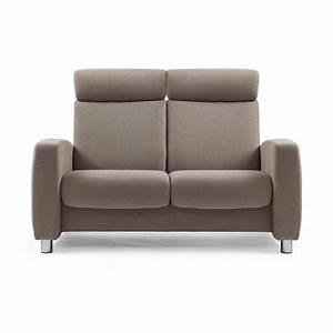 2 Sitzer Sofa : stressless sofa 2 sitzer arion m hoch dark beige stahl ~ Frokenaadalensverden.com Haus und Dekorationen