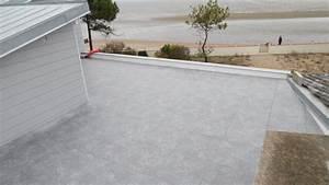 étanchéité Terrasse Carrelée : produit etancheite terrasse carrelee r fection d une ~ Premium-room.com Idées de Décoration