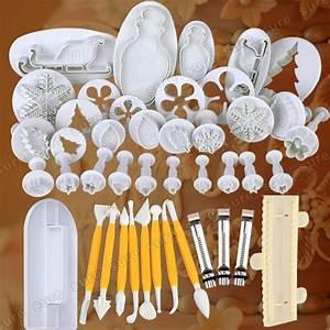 Torten Dekorier Set : 23 48er ausstechformen set ausstecher auswerfer marzipan ~ A.2002-acura-tl-radio.info Haus und Dekorationen
