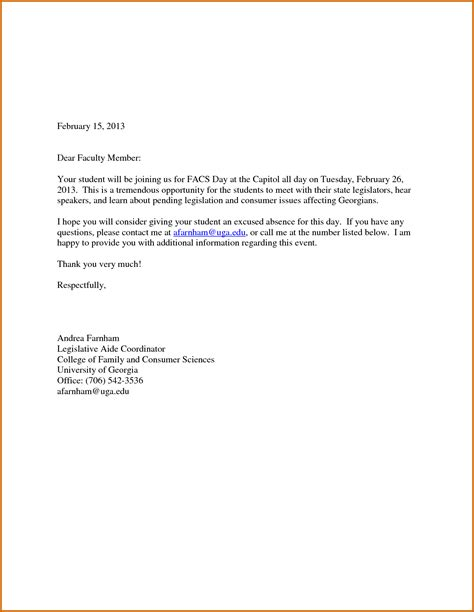 8 how to write an absent letter for lease template