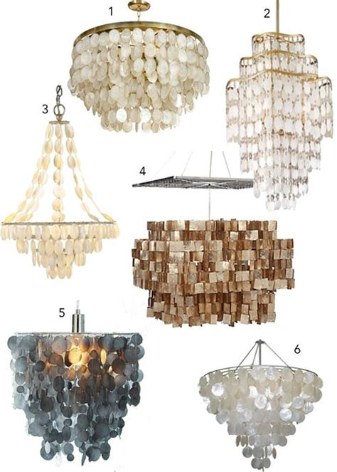 best 20 capiz shell chandelier ideas on