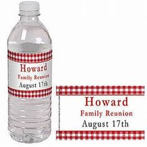 1000 images about family reunion ideas on pinterest With class reunion water bottle labels