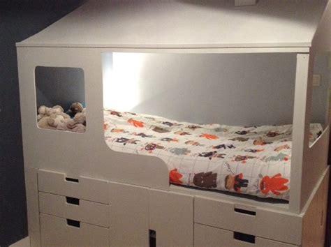 creer une chambre 2 en 1 lit cabane enfant rangements bidouilles ikea