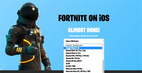 fortnite android release date   fortnite finally