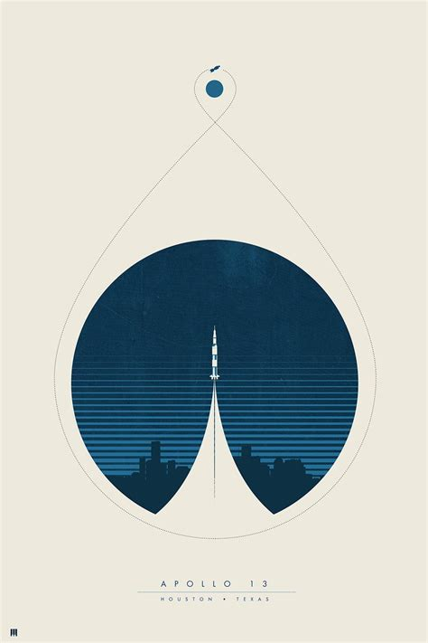designer graphics tx apollo 13 limited edition poster designed by justin