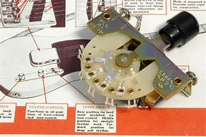 Genuine Fender Telecaster Tele Crl 1452 3 Way Selector Switch 0038993000
