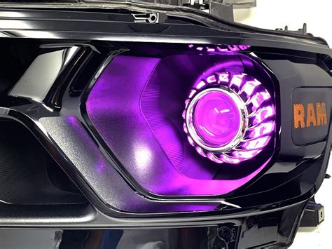 ram  custom color changing led projector