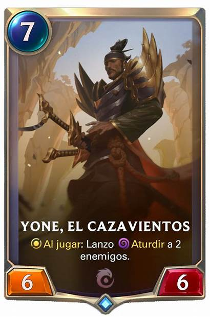 Yone Runeterra Legends Windchaser Card League Yasuo