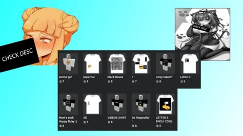 roblox bypassed  shirts  youtube