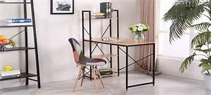 Bureau Bois Et Metal : bureau en bois rectangulaire erevan ~ Teatrodelosmanantiales.com Idées de Décoration