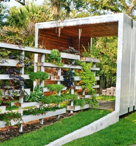 Fence House Design Garten Vorschläge Kleine Gärten