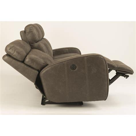 power reclining sofa with usb ports flexsteel latitudes tomkins power reclining sofa with usb