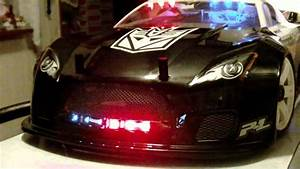Picture Of Police Car With Lights Ofna Gtp2 E Quot Transformers Edition Quot Decepticon Police Car W