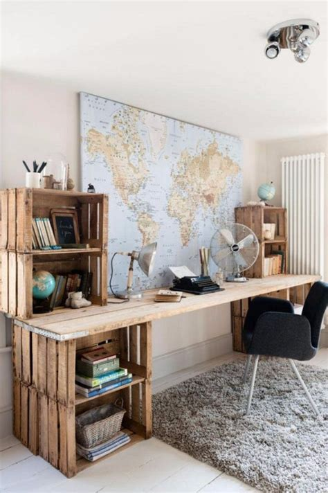les de bureau les 25 meilleures idées de la catégorie bureau en bois sur