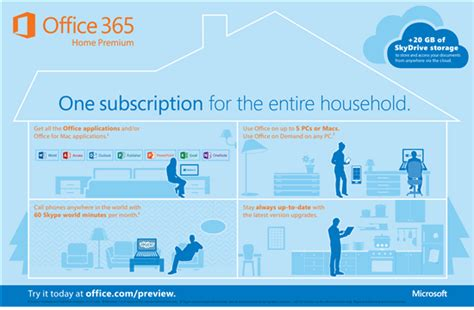 Office 365 Yearly Subscription by Microsoft Office 365 Home Premium Software Overview Baby