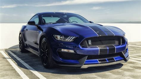 ford mustang shelby gt blue mustang sports cars