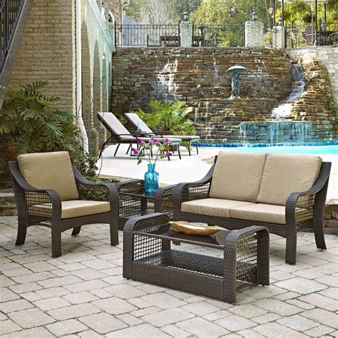 Lanai Furniture by Home Styles Lanai Collection Loveseat Accent Chair