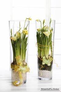 Vasen Dekorieren Tipps : dekoration mit narzissen einfach ~ Eleganceandgraceweddings.com Haus und Dekorationen