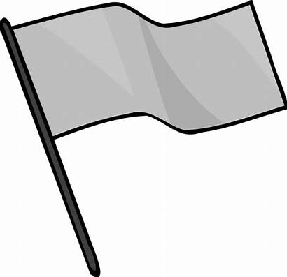 Flag Capture Clipart Gray Clip Template Outline