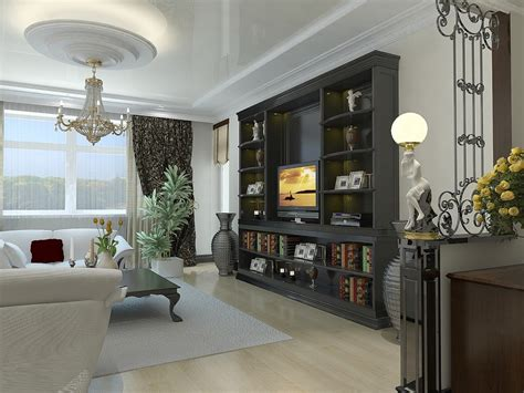 floor l next to tv splashy tall floor vasesin living room contemporary with winsome bookcase with tv next to