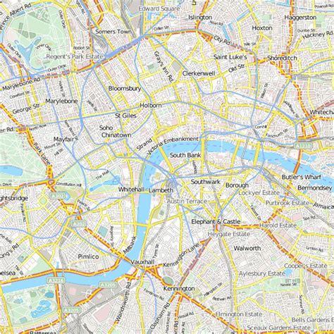 Übersicht über die wichtigsten sehenswürdigkeiten von london inkl. London Stadtplan bei Citysam und Hotelangeboten im Stadtplan
