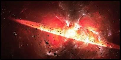 Universo Nasce Novo Um Bang Explosion Space