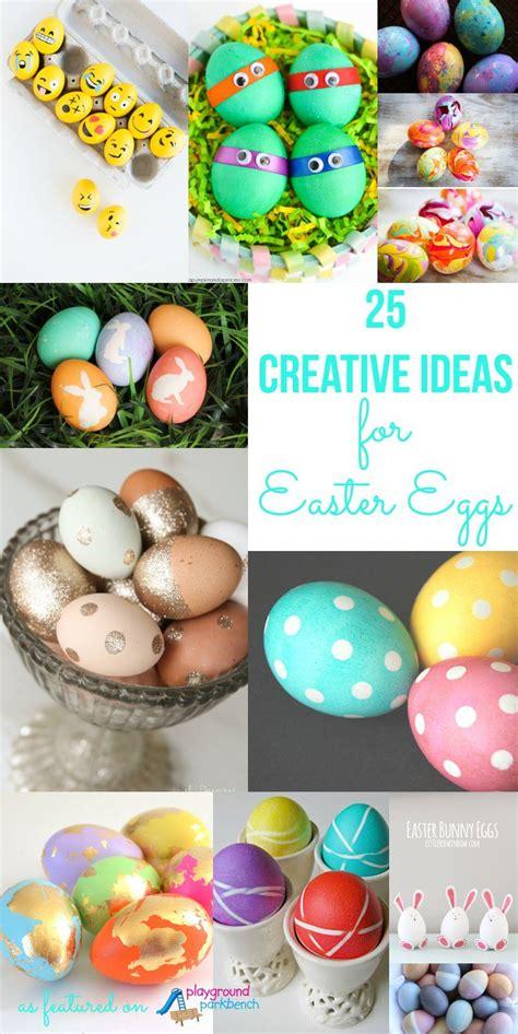 creative ideas  decorating easter eggs playground
