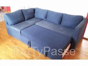 Canapé D Angle Bleu Pétrole : 40 bon march canap convertible 3 places bleu kse4 fauteuil de salon ~ Teatrodelosmanantiales.com Idées de Décoration