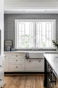 Grey Tiles In Kitchen by 35 Ways To Use Subway Tiles In The Kitchen Digsdigs