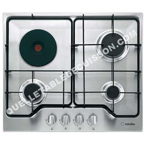 plaque de cuisson scholtes mixte plaque cuisson scholtes mixte sur enperdresonlapin