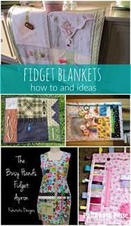 Fidget Blanket Ideas