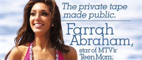 Farrah Abraham My Farrah Superstar Backdoor Teen Mom