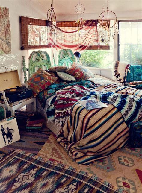 bohemian style bedroom interior design