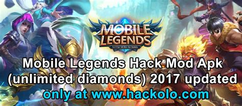 mobile legend hack apk get mobile legends unlimited diamonds mod apk updated