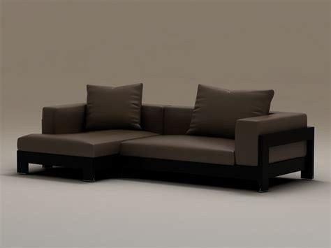 Plant Wall Decor by Wood Base Corner Sofa 3d Model 3dsmax Files Free Download