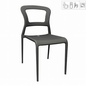 Chaise Exterieur Design : chaise de jardin empilable ~ Teatrodelosmanantiales.com Idées de Décoration