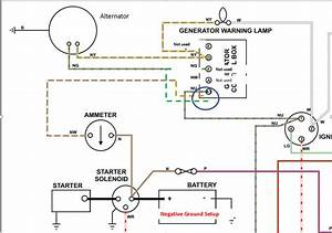 Ammeter Wiring With Alternator - Tr4  4a Forum