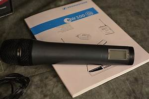 Sennheiser Ew 100 Microphone Manual