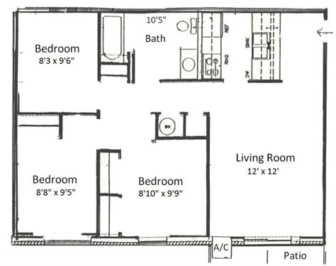 living room floor planner basham rentals 225 s river rd3 bedroom floor plans
