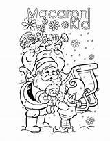 Macaroni Coloring Pages Kid Elbow Pasta Dunwoody Macaroons Printable sketch template